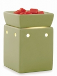 Green Square Illuminating Tart Warmer