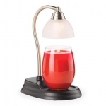 Candle Lamp - Aurora Pewter